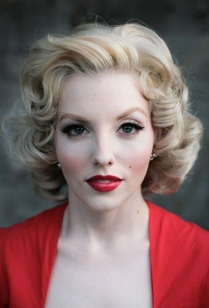 Trend 50s pinup hair styles vintage hairstyles retro hairstyles Pin Up Style Short Hair Ideas
