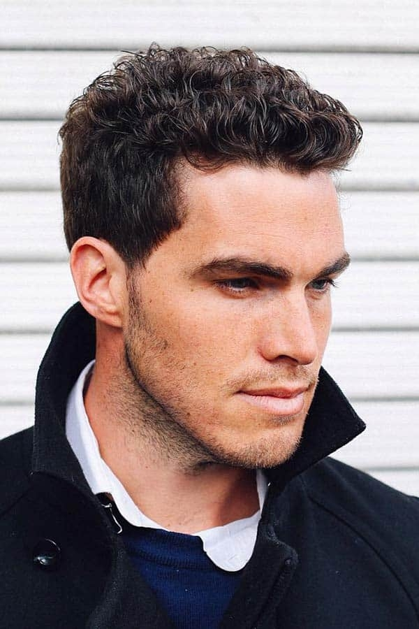 Trend 55 sexiest short curly hairstyles for men menshaircuts Cool Hairstyles For Guys With Short Curly Hair Ideas