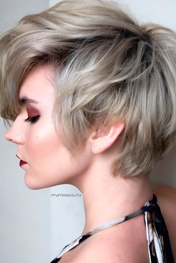 Trend 57 blonde short hairstyles for round faces Cute Short Haircuts For Thick Hair And Round Faces Inspirations