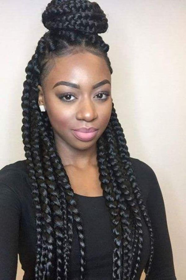 Trend 66 of the best looking black braided hairstyles for 2020 New Braid Styles For Black Hair Choices
