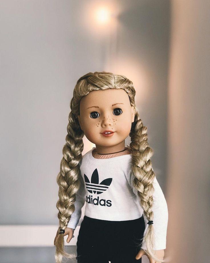 Trend american girl doll hairstylebraids makenzieag on Cool Hairstyles For Your American Girl Doll