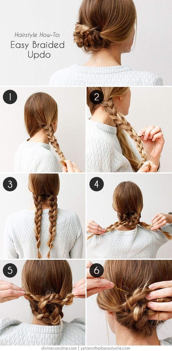 Trend an easy braided hairstyle for any occasion more hair Braided Updo Hairstyle For Long Hair Inspirations