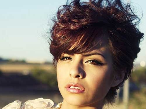 Trend best curly short hairstyles for round faces Best Short Hairstyle For Round Face Inspirations