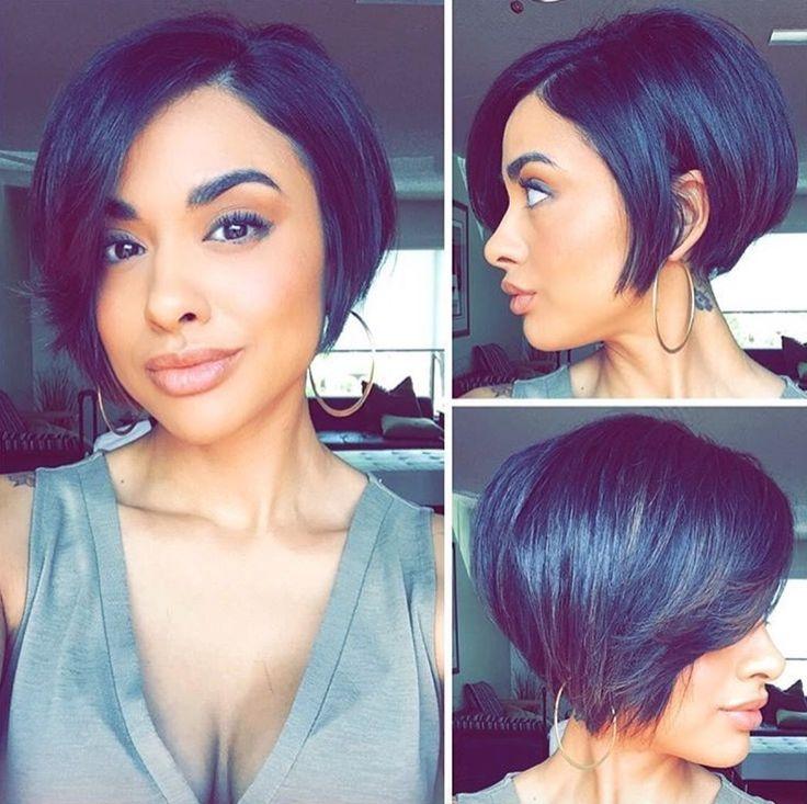 Trend bob haircuts for black women best short african american Short African American Bob Hairstyles