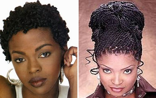 Trend celebrities who make african american twist hairstyles look good African American Twist Hairstyle Designs