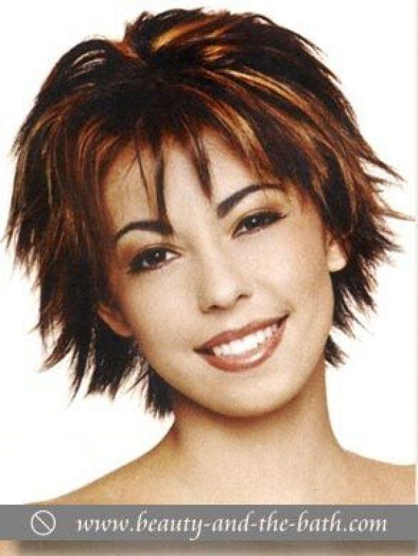 Trend choppy hairstyles for older women short choppy layered Short Choppy Layered Haircuts Choices