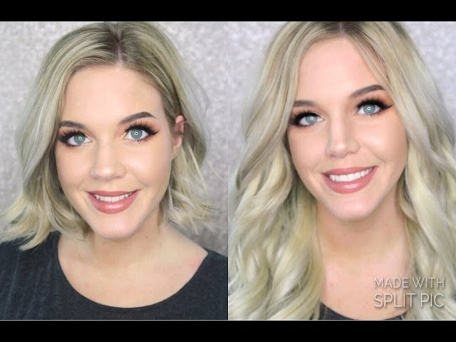 Trend clip in extensions for short hair luxy hair youtube Luxy Hair Styles For Short Hair Choices
