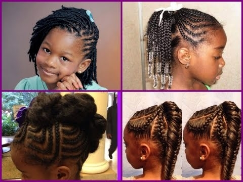 Trend cute hairstyles for black little girls African American Little Girls Hair Styles