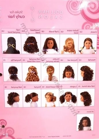 Trend cute hairstyles for your american girl doll pictures Cool Hairstyles For Your American Girl Doll Designs