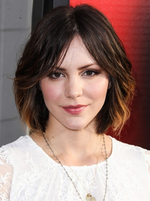 Trend cute medium short hairstyles katharine mcphee hair Medium Short Haircut Styles Inspirations