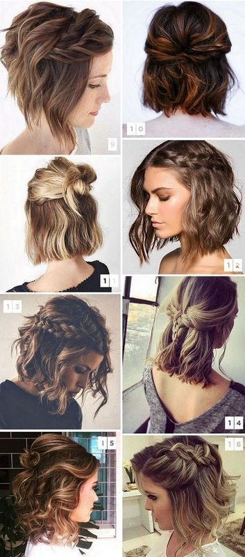 Trend diy cool easy hairstyles that real people can actually do at Easy Hairstyles For Short Hair To Do At Home Choices