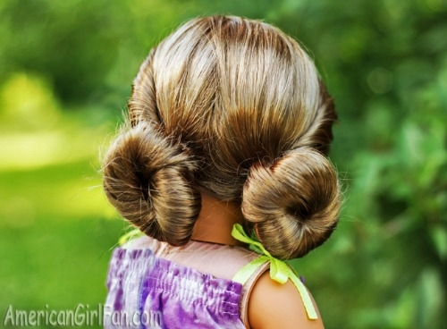 Trend easy american girl hairstyles even little girls can do Fun And Easy Hairstyles For American Girl Dolls