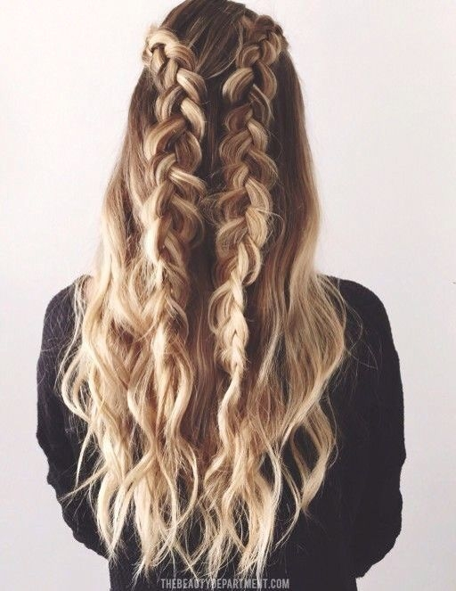 Trend easy braided hairstyles for spring 2017 makeup tutorials Hairstyles Braids Tumblr Easy Ideas