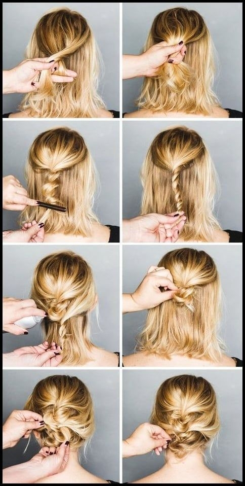 Trend easy formal hairstyles for short hair hair pinterest Hairdos For Short Hair Pinterest Ideas
