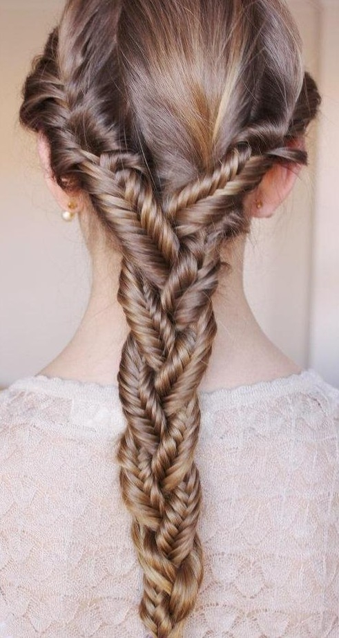 Trend fishtail braid for girls tumblr hairstyles weekly Hairstyles Braids Tumblr Easy Choices