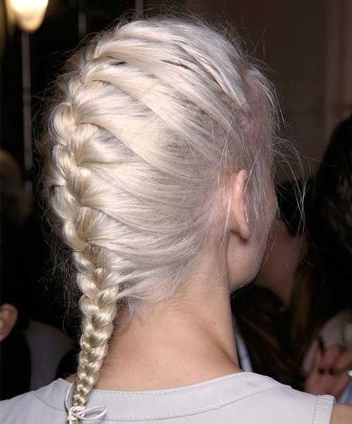 Trend french braid thin hair braids hair styles long hair French Braid Hairstyles For Thin Hair Ideas