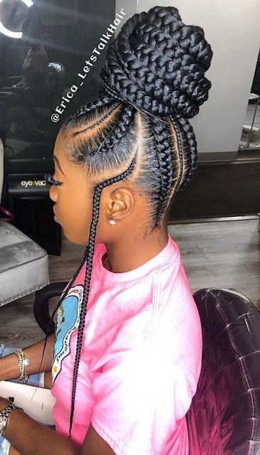 Trend gorgeous braided hairstyle braided hairstyles african Best Braid Styles For Hair Growth Choices