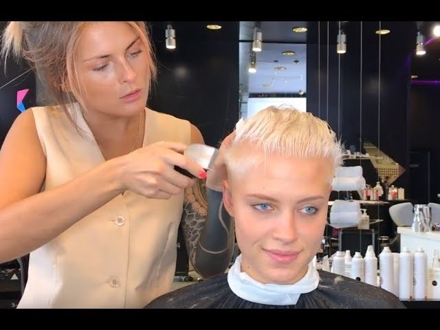 Trend ice queen gets an ultra short haircut youtube Ultra Short Haircuts Inspirations