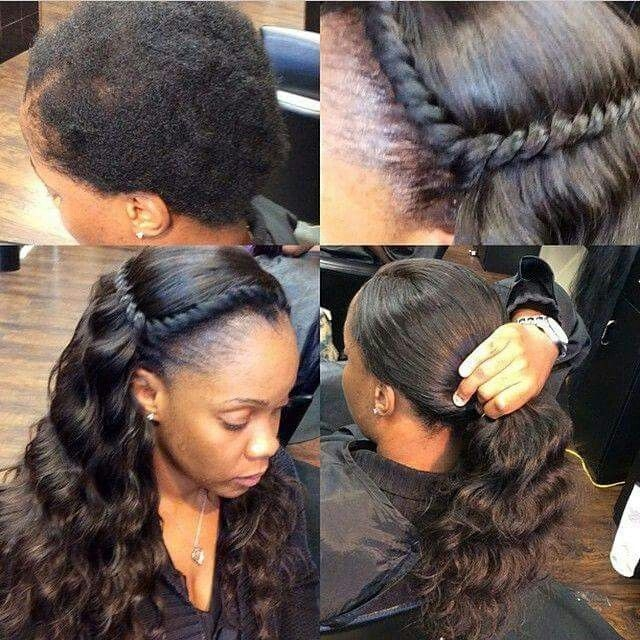 Trend natural sew in curly hair styles weave hairstyles sew in Sew In Weaves Hairstyles African American Designs
