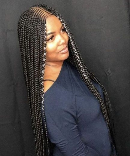 Trend new braids with weave hairstyles african americans 65 ideas Braids African American Hairstyles Ideas