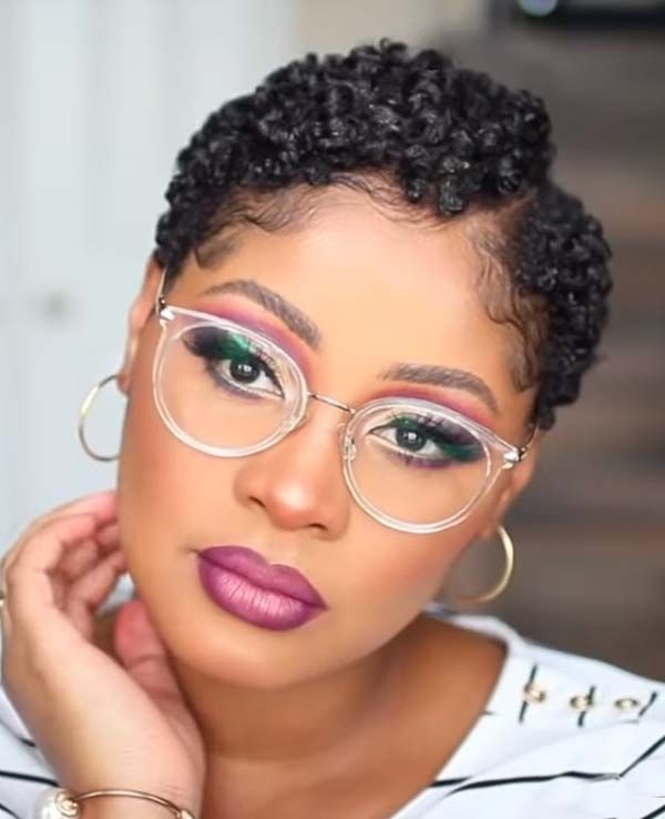 Trend new short textured hairstyles for black women with glasses African American Short Textured Hairstyles