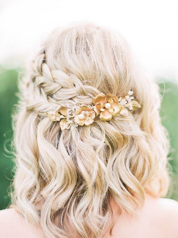 Trend nomad wedding inspiration bajan wed short wedding hair Short Hair Wedding Styles Bridesmaid Inspirations