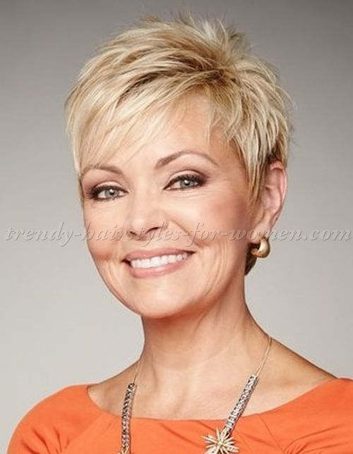 Trend pin on cute hair Short Hair For Over Fifties Choices