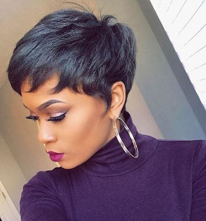 Trend pin on dresses Short African American Wigs Designs