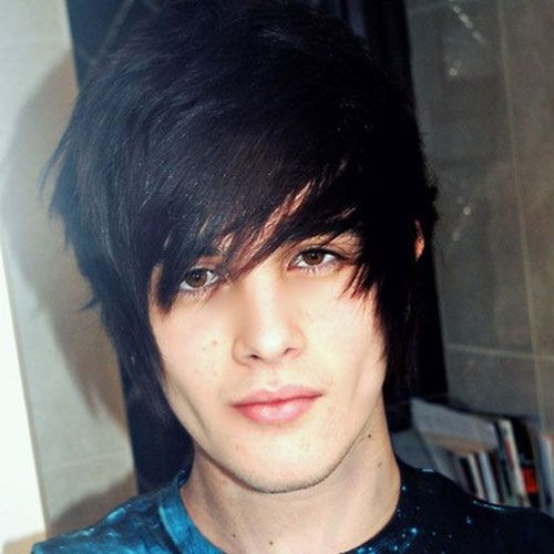 Trend pin on emo Short Emo Boy Hairstyles Ideas