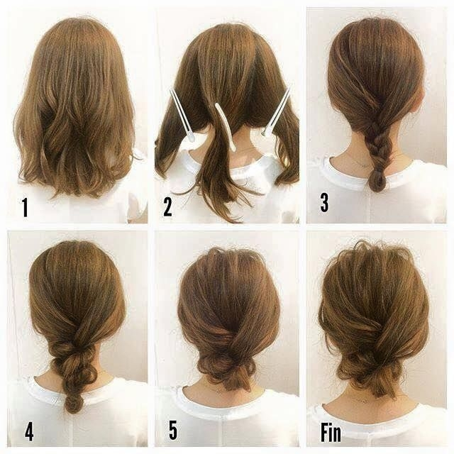 Trend pin on hair Easy Braided Hairstyles For Medium Length Hair Inspirations