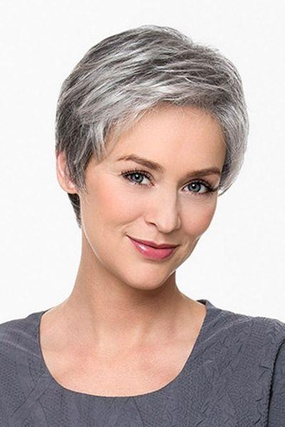 Trend pin on hair Short Haircuts For Grey Hair Ideas