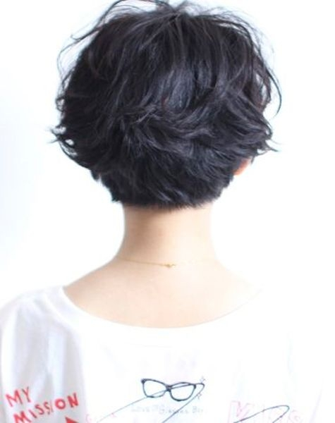 Trend pin on hair Short Layered Haircuts From The Back Choices