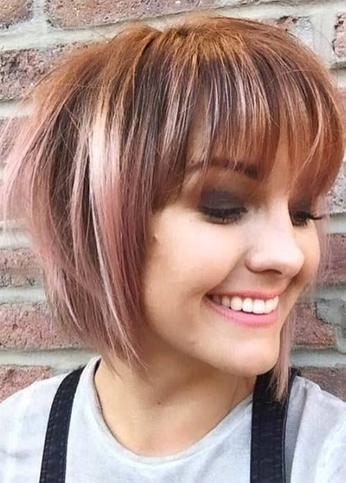 Trend pin on hair styles Short Hair Bobs With Bangs Ideas
