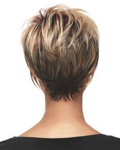 Trend pin on hair styles Short Haircut Styles Back View Choices