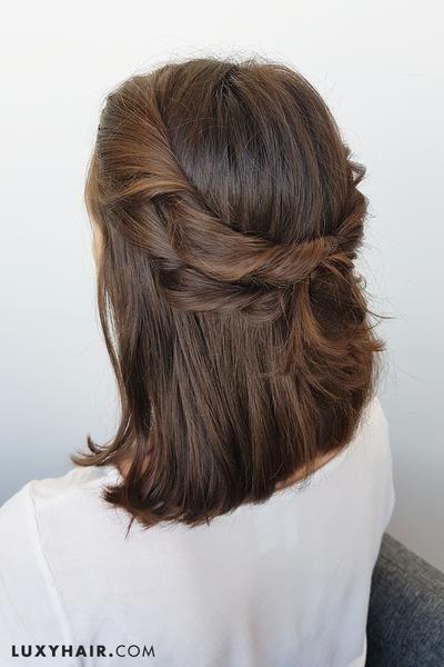 Trend pin on hair tutorials how to Luxy Hair Styles For Short Hair Ideas
