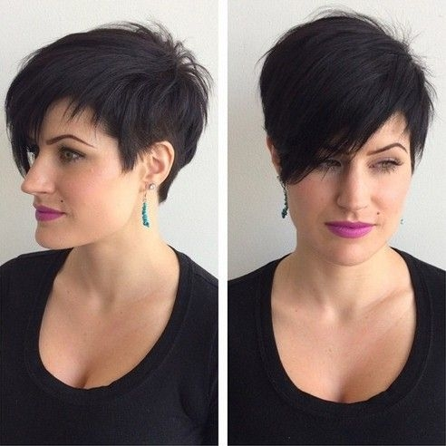 Trend pin on haircuts Short Asymmetrical Haircuts Choices