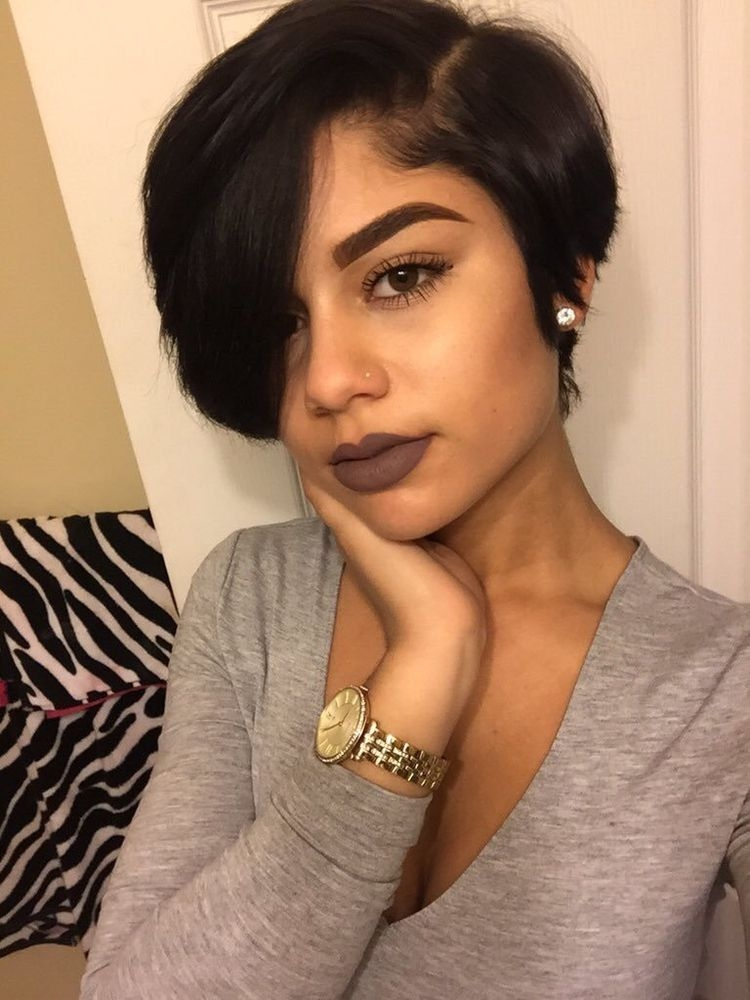 Trend pin on hairspiration Cute Short Haircuts For Black Girls Inspirations