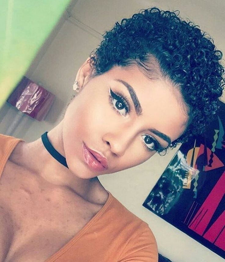 Trend pin on lovely Ebony Short Haircuts Inspirations