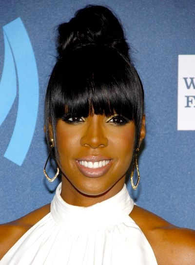 Trend pin on ponytails African American Ponytail Hairstyles With Bangs