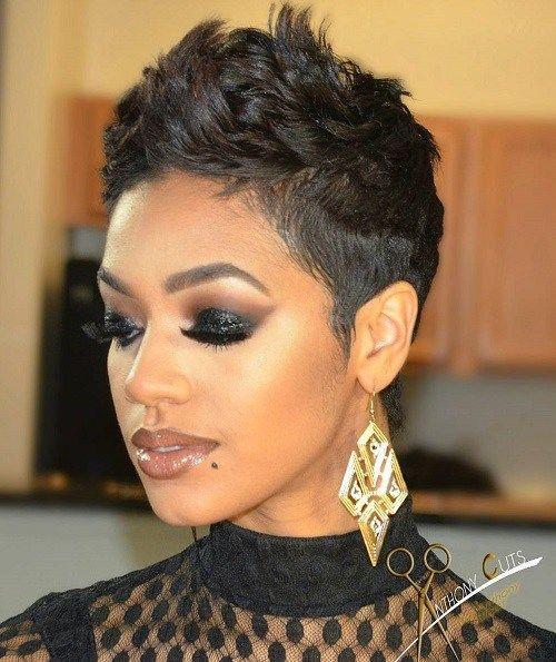 Trend pin on short hair Black Female Short Haircut Styles Choices