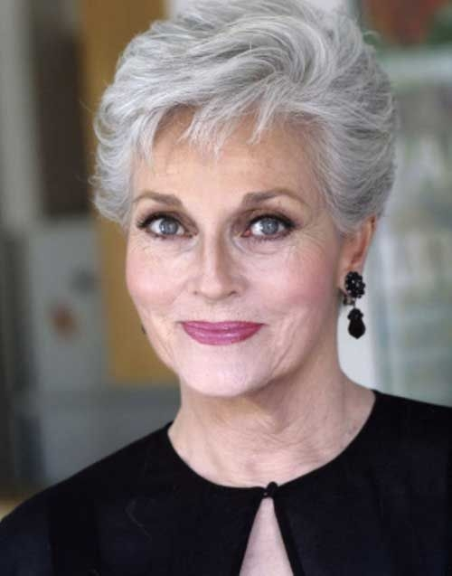 Trend pin on short hair styles Short Haircuts For Old Ladies Choices