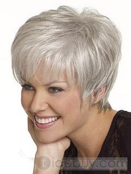 Trend pin on sukuosenos Short Haircuts For Salt And Pepper Hair Ideas