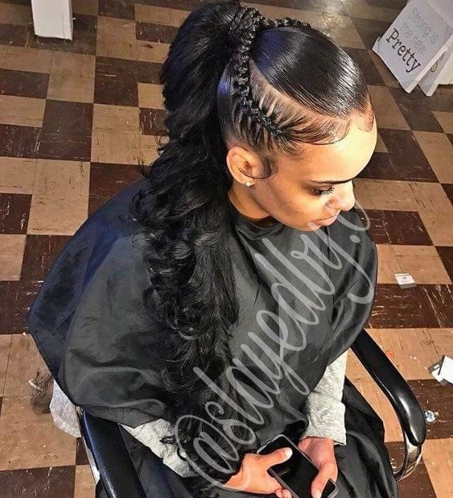 Trend pinterest jrrodgers weave ponytail African American Weave Ponytail Hairstyles Designs