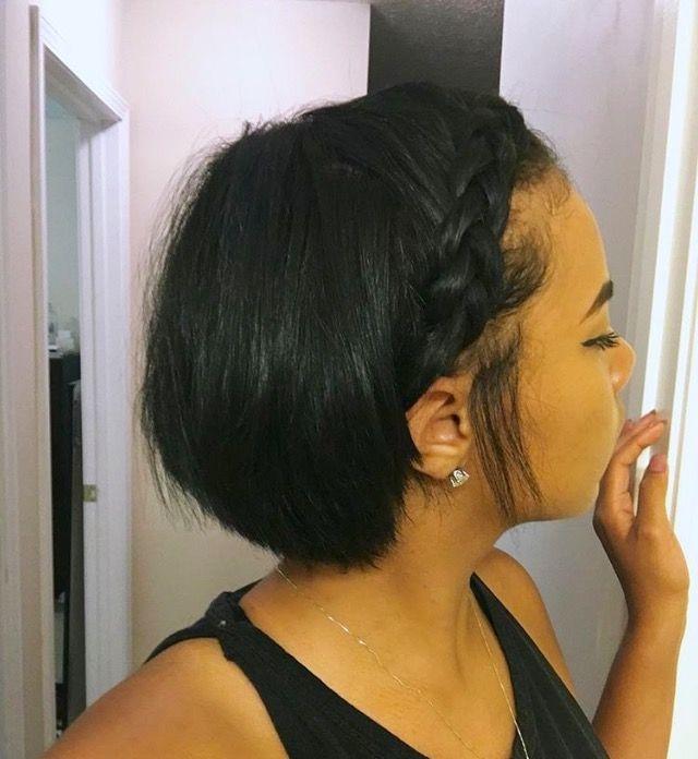 Trend pinterest kekedanae20 short natural hair styles short Short Bob Hairstyles For Relaxed Hair Inspirations