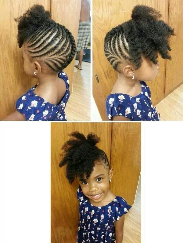 Trend pretty updo natural hairstyles for kids natural hair Natural Braided Hairstyles For Toddlers Inspirations