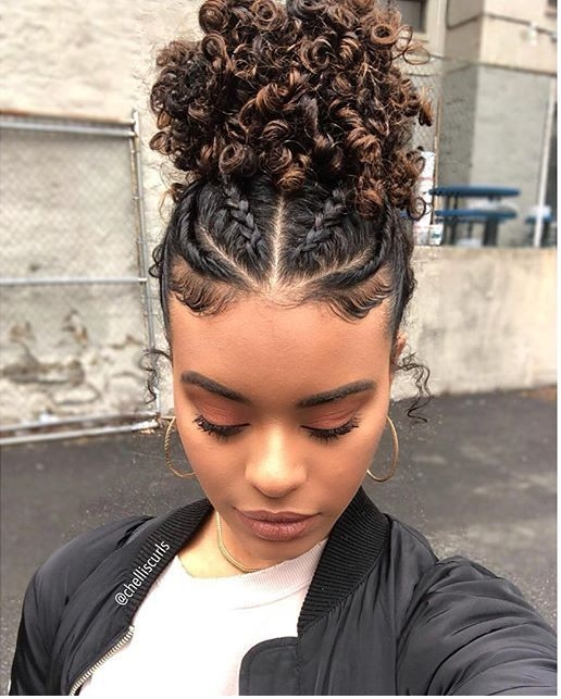 Trend q natural hair styles transitioning Braid Hairstyles For Medium Curly Hair Ideas