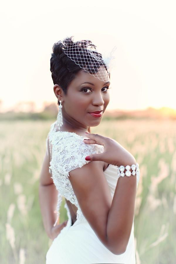 Trend real shreveport la wedding mekisha clifton munaluchi African American Short Wedding Hairstyles Ideas