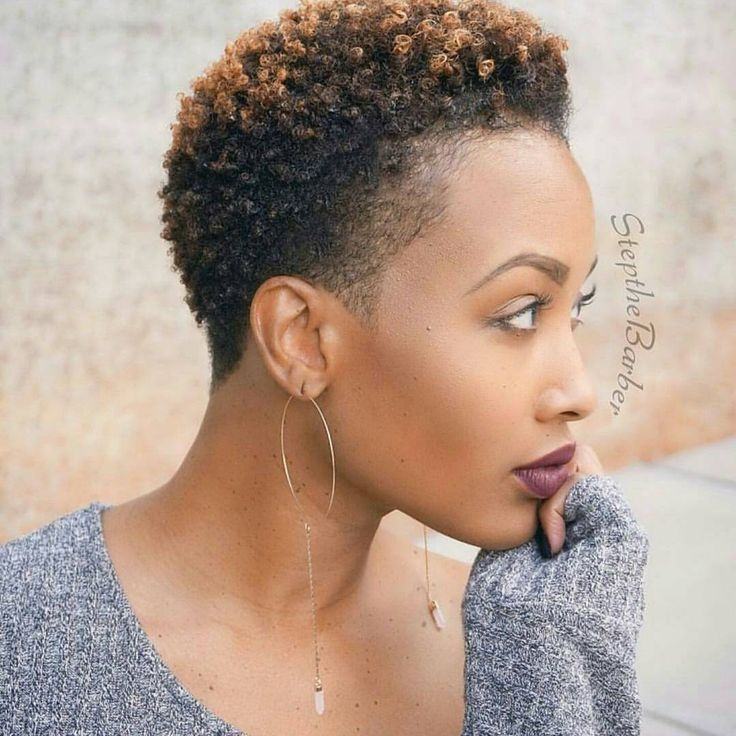 Trend see 17 hot tapered short natural hairstyles short natural Short Natural Black Hairstyle Ideas Ideas
