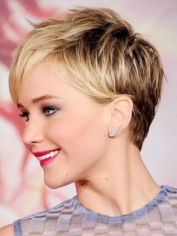 Trend short haircuts for round faces and thin hair 40 Short Haircut For Thin Hair And Round Face Choices