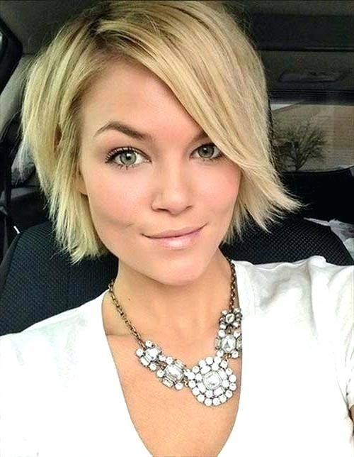 Trend short haircuts for straight hair long face popular Short Haircuts For Fine Thin Hair Long Face Inspirations